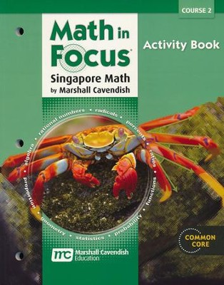 Math in Focus Grade 7 Course 2 Blackline Activities Book  -