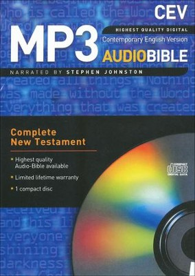CEV New Testament on Audio CD  -     Narrated By: Stephen Johnston