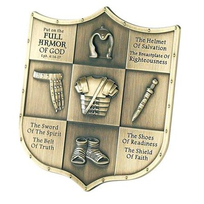 Full Armor of God, Tabletop Plaque, Ephesians 6:14-17  -