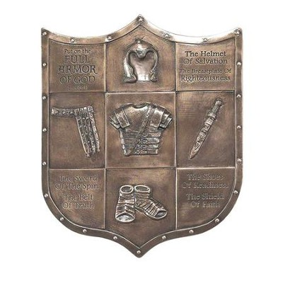 Full Armor of God, Wall Plaque, Ephesians 6:14-17  -