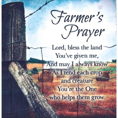 Farmer's Prayer, Magnet  -