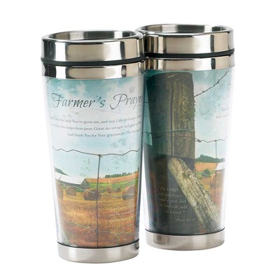 Farmer's Prayer, Travel Mug  -