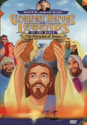 The Miracles of Jesus,  Greatest Heroes and Legends of the Bible DVD  -