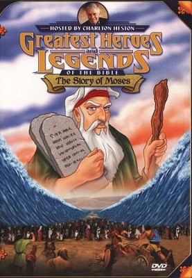 The Story of Moses,  Greatest Heroes and Legends of the Bible DVD  -