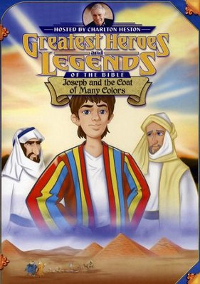 Joseph and the Coat of Many Colors,  Greatest Heroes and Legends of the Bible DVD  -