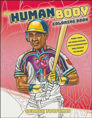my human body coloring book by george toufexis - Human Body Coloring Book