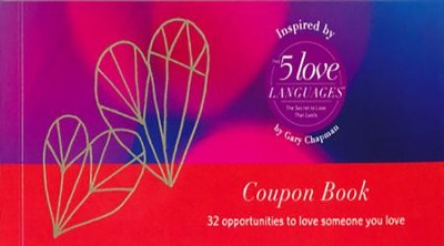 5 Love Languages Couples Coupon Book  -