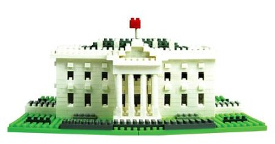 Nano Block Sights To See, White House  -