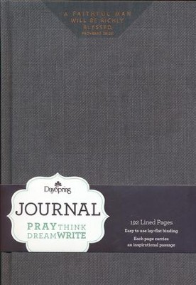 A Faithful Man Journal  -