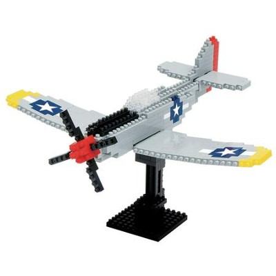 Nanoblock Advanced Hobby, P-51 Mustang   -
