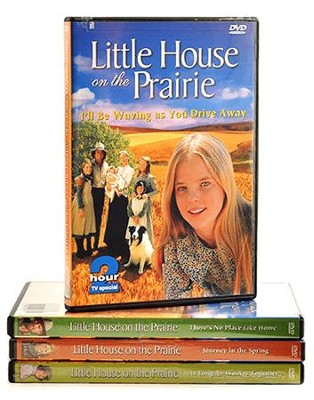 Little House on the Prairie Movies, 4 DVDs   -