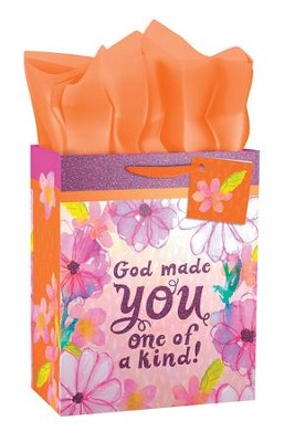 God Made You One Of A Kind Gift Bag, Medium  -