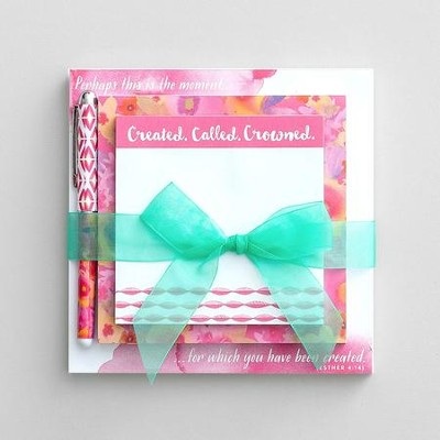 Created Called Crowned Memo Pad Set  -