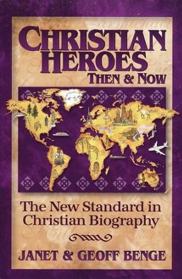 Christian Heroes Books 21-25   -     By: Janet Benge, Geoff Benge