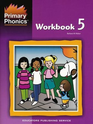 Primary Phonics Workbook 5   -     By: Barbara W. Makar