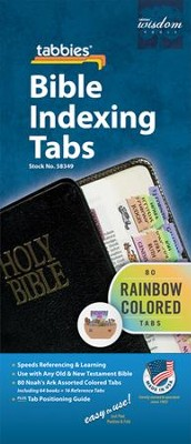 Noah's Ark Bible Indexing Tabs   -