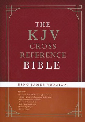 KJV Cross Reference Bible, Hardcover   -     By: Christopher D. Hudson