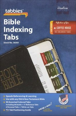 Bible Tabs, Coffee House Colors   -