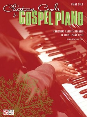 Christmas Carols for Gospel Piano (Piano Solos)   -