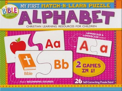 My First Match N Learn Puzzle: Alphabet Boxed Puzzle  -     By: Kim Thompson