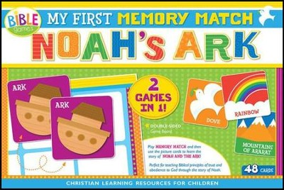 My First Memory Match Game: Noah's Ark Boxed Puzzle  -     By: Kim Thompson