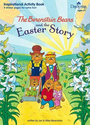 Berenstain Bears and the Easter Story Activity Book  -