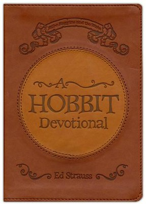 A Hobbit Devotional: Bilbo Baggins and the Bible, Imitation   Leather  -     By: Ed Strauss