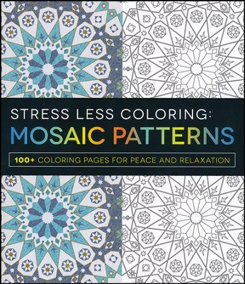 Stress Less Coloring - Mosaic Patterns  -     By: Adams Media
