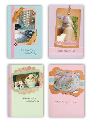 Scrapbook Mother's Day Cards, Box of 12  -