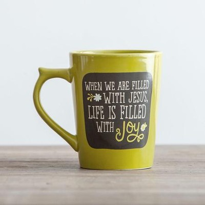 Life Is Filled With Joy Mug  -