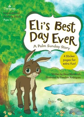 Eli's Best Day Ever Activity Book  -