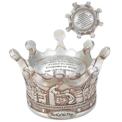 Birth Of The King Crown Musical Figurine  -