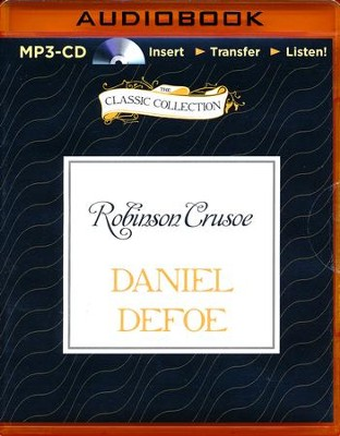 Robinson Crusoe - unabridged audiobook on MP3-CD  -     Narrated By: Tom Casaletto     By: Daniel Defoe