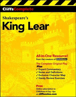 CliffsComplete King Lear  -     By: William Shakespeare