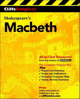 CliffsComplete Macbeth  -     By: William Shakespeare
