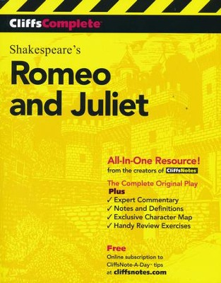 CliffsComplete Romeo and Juliet  -     By: William Shakespeare