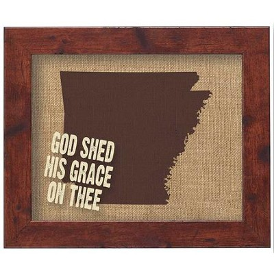 American States Wall Decor, Arkansas  -