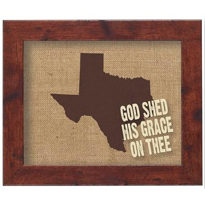 American States Wall Decor, Texas  -