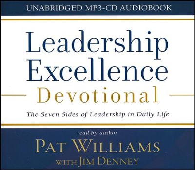 Leadership Excellence Devotional - unabridged audiobook on MP3-CD  -     By: Pat Williams, Jim Denney