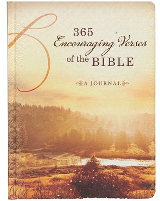 365 Encouraging Verses of the Bible: A Journal   -