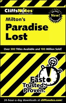 CliffsNotes on Milton's Paradise Lost  -     By: Bob Linn