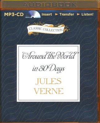 Around the World in 80 Days - unabridged audiobook on MP3-CD  -     Narrated By: David Colacci     By: Jules Verne