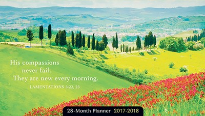 2017-2018 The Earth Is the Lord's Planner, 28 Months  -
