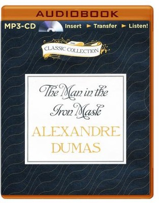 The Man in the Iron Mask - unabridged audiobook on MP3-CD  -     Narrated By: Geoffrey Sherman     By: Alexandre Dumas
