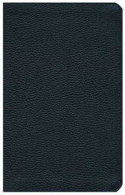 KJV Study Bible: Students' Edition - genuine leather, black, Thumb-Indexed  -