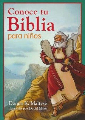 Conoce tu Biblia para Niños  (Know Your Bible for Kids)   -     By: Donna K. Maltese