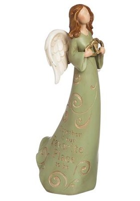 Together Is Our Favorite Place To Be Angel Figurine  -