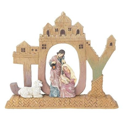 Joy, Holy Family Tabletop Figurine  -