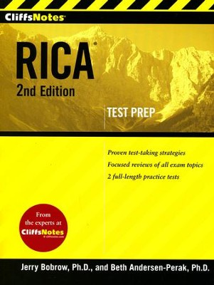 CliffsNotes RICA 2nd Edition  -     By: Beth Andersen-Perak, Jerry Bobrow