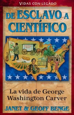 Héroes Cristianos de Ayer y de Hoy: George Washington Carver   (Christian Heroes Then & Now: George Washington Carver)  -     By: Janet Benge, Geoff Benge